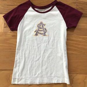 Tops - Arizona State University ASU Sun Devils T shirt